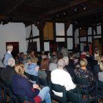 Viele Gäste kamen zu diesem interessanten Abend im Schafstall.