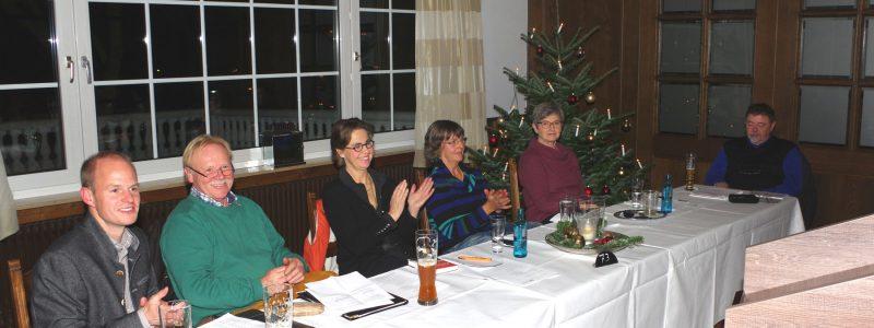 Der Vorstand des Vereins OK! Bad Essen mit Vorsitzendem Daniel Reitel (links) konnte eine positive Bilanz der bisherigen Arbeit ziehen. Foto: OK! Bad Essen